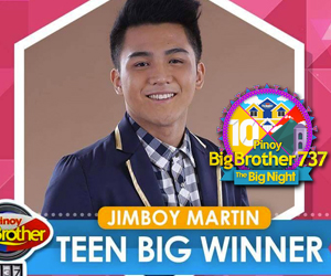 PHOTOS: Congratulations to PBB 737 Teen Big Winner Jimboy
