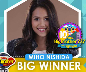 PHOTOS: Si Miho ang Big Winner ng PBB 737