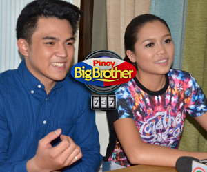 PHOTOS: The Big Presscon with PBB 737 Big Winners Miho and Jimboy