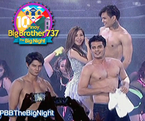Daniel, Ejay, Zeus and Dawn made the crowd go wild in their sizzling hot performance