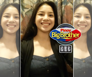 Selfie photos of Zonia Mejia before entering PBB house