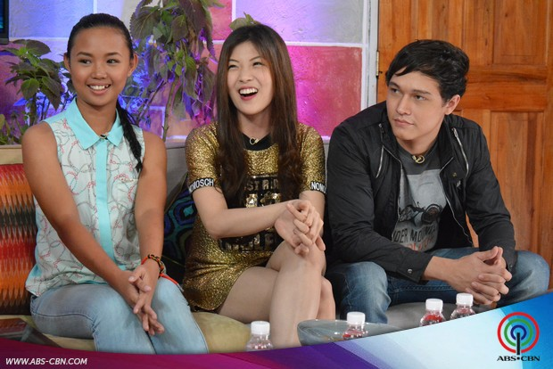 PHOTOS: Ex-Housemates Charlone, Mikee & Krizia on PBB Online Chat