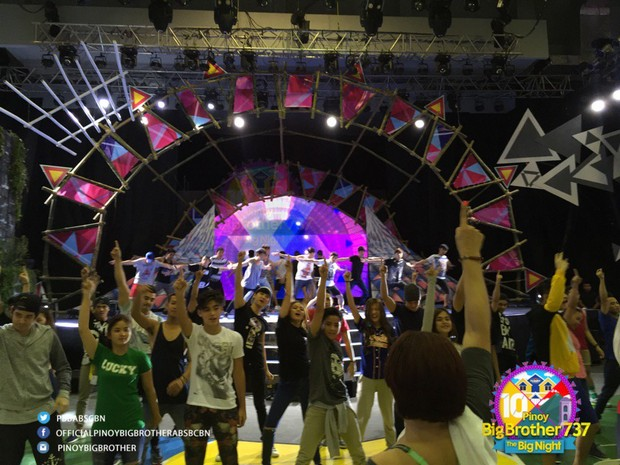 PHOTOS: #PBBTheBigNight Rehearsals
