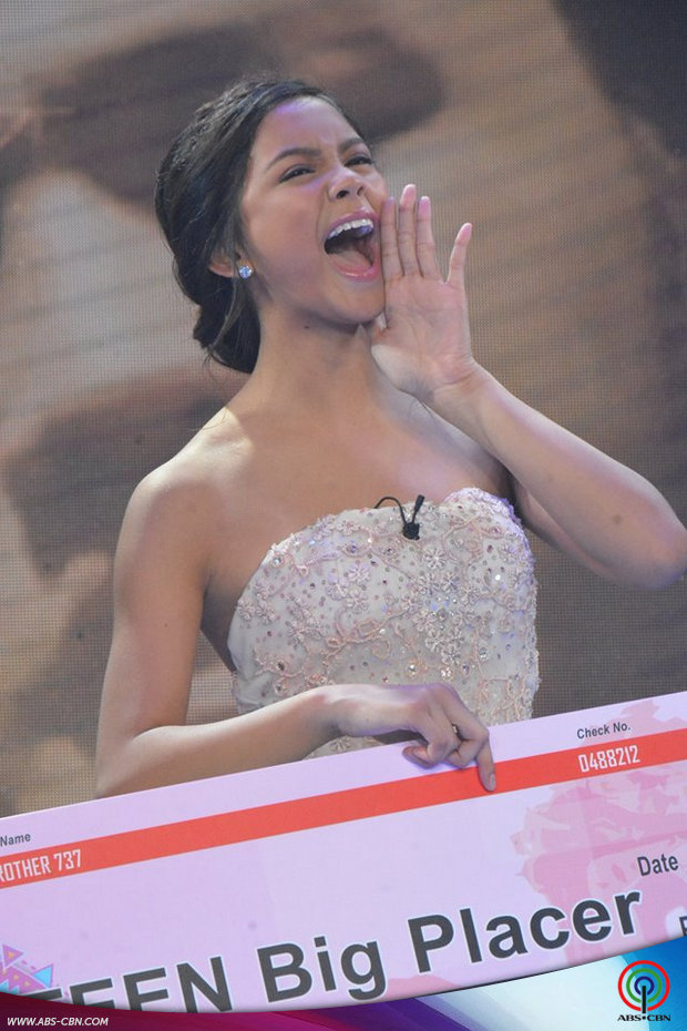 PHOTOS: Ylona is PBB 737's 2nd Teen Big Placer