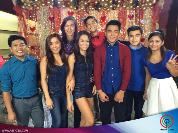 PHOTOS: PBB 737 housemates spread love vibes at the #ThankYouForTheLove ABS-CBN Christmas 2015 SID shoot