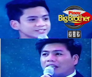 Franco Rodriguez and Roger Lutero are PBB 737's 3rd Teen and Adult Big Placers
